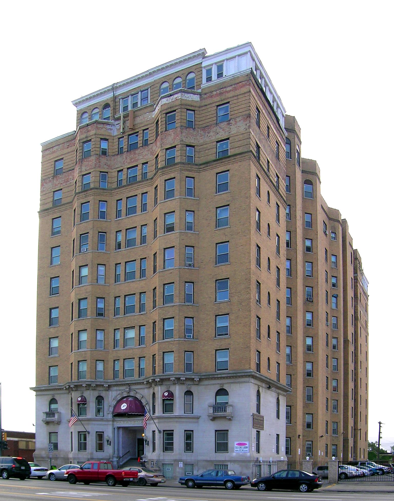 Garden Court Apartments Detroit Michigan