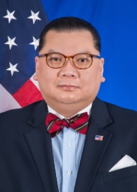Official U.S. State Department photograph of J. Peter Pham.