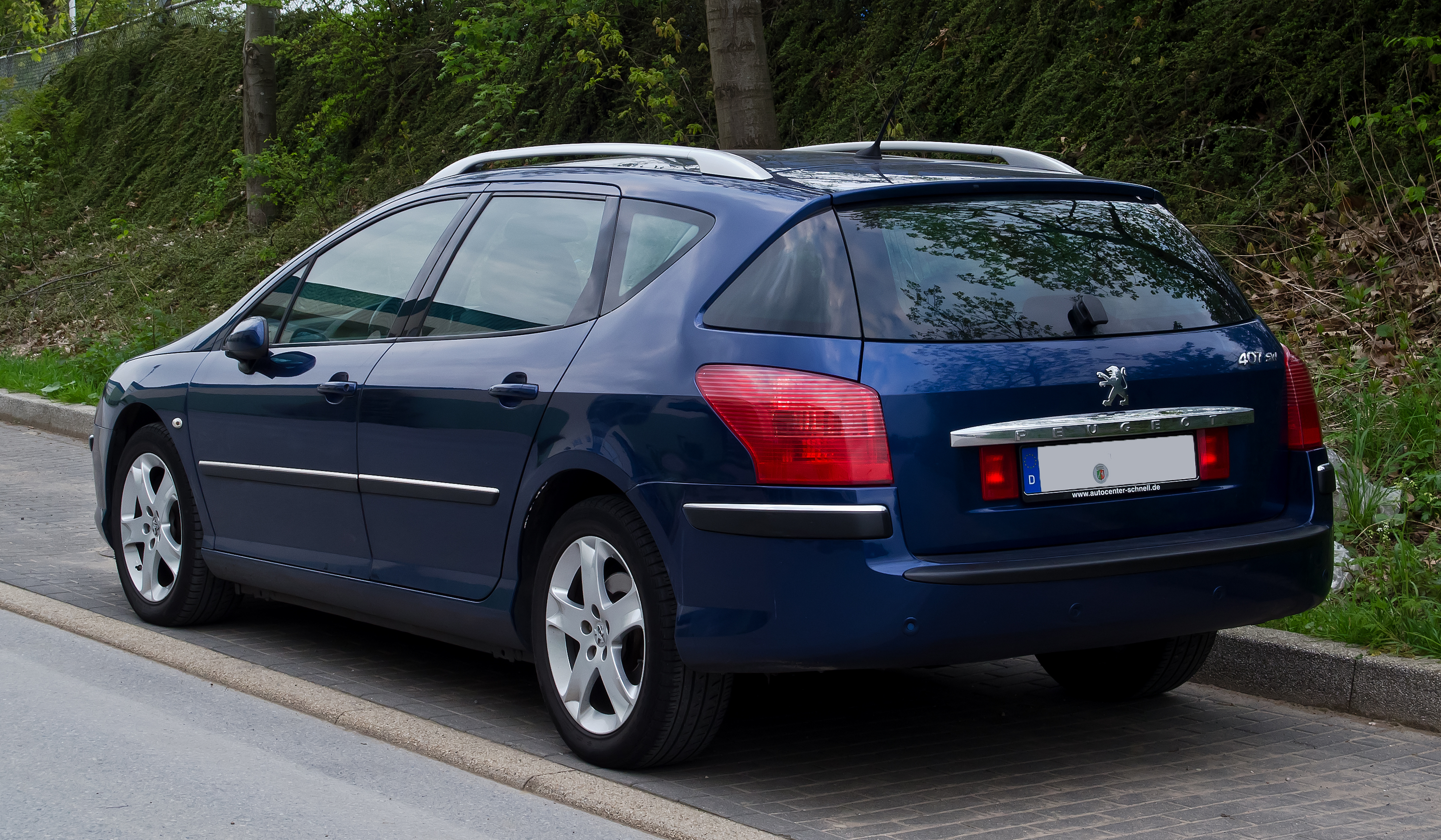File Peugeot 407 Sw Facelift Heckansicht 3 Mai 2012 Wulfrath Jpg Wikipedia
