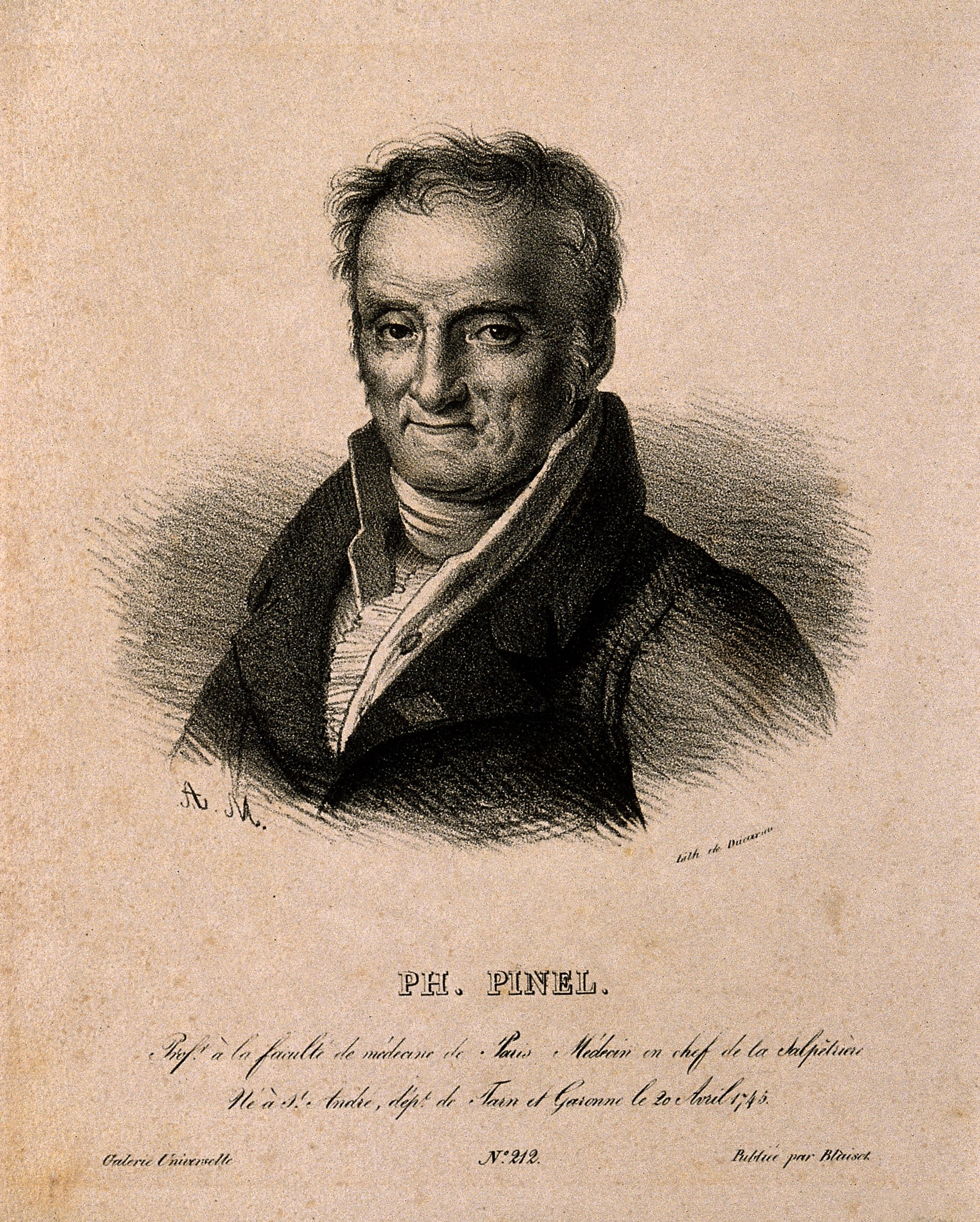 philippe pinel Lived 1745 - 1826 philippe pinel founded scientific psychiatry he ignored  previous theories about mental illness, relying on his own observations to guide.