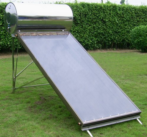 Image result for flat plate solar water heater