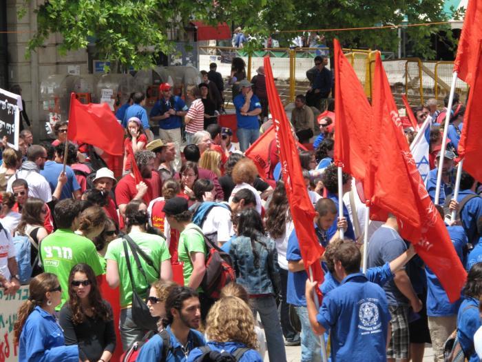 הפגנת 1 במאי 2009