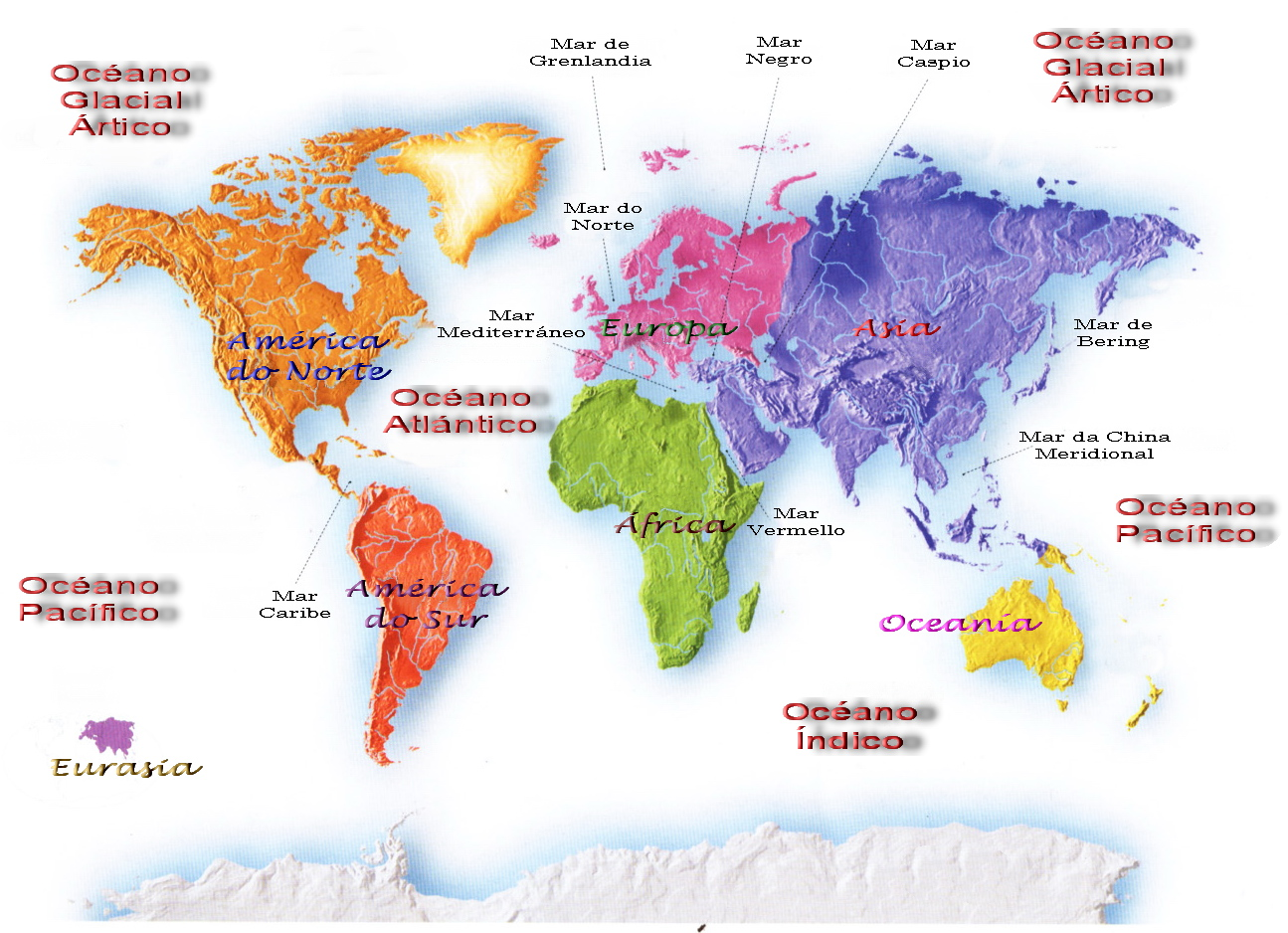 Imagenes De Mapa Planisferio