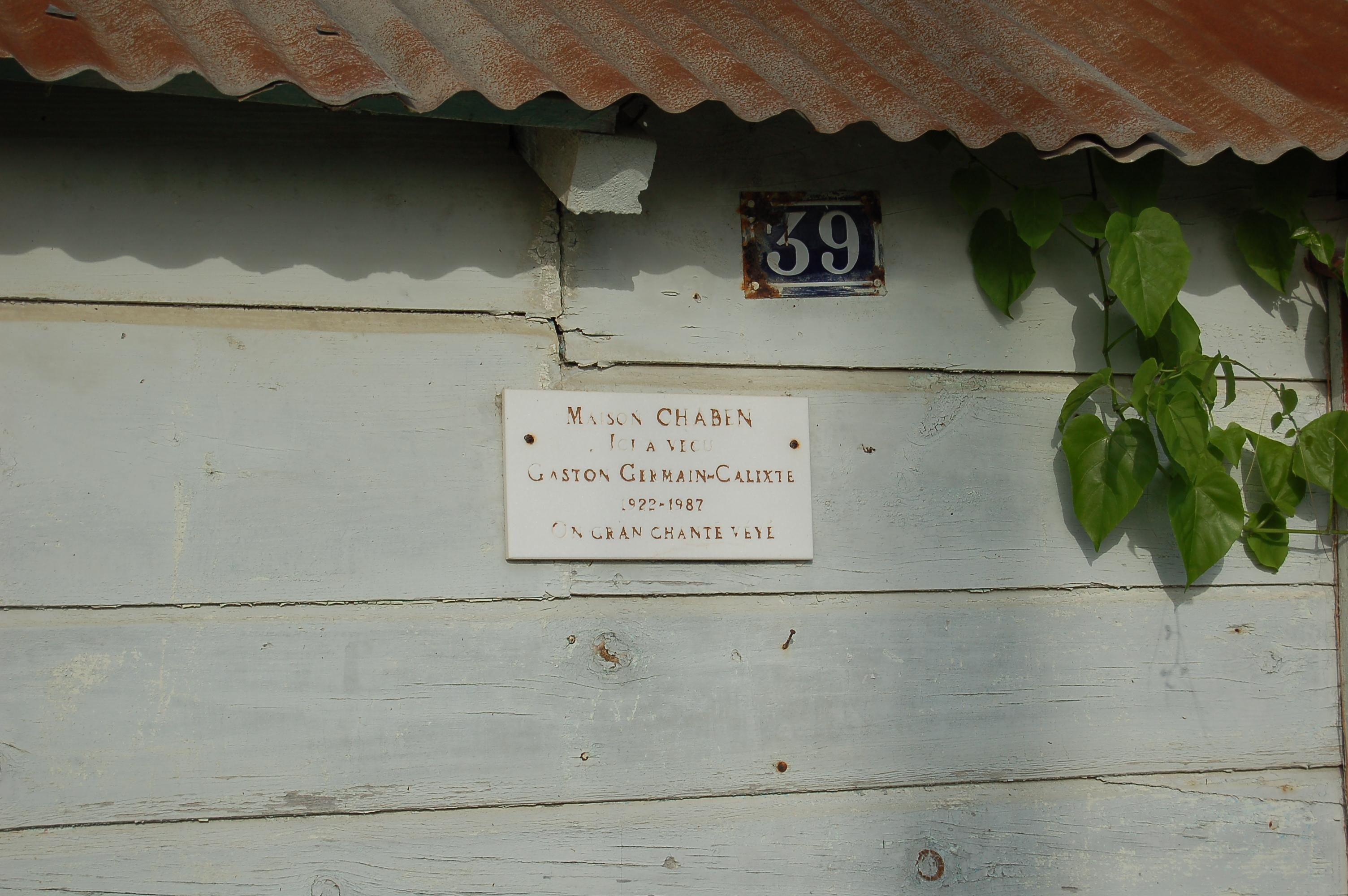 file plaque maison de gaston germain calixte 224 port louis jpg wikimedia commons