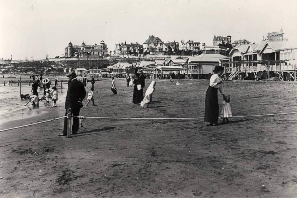 Playa Bistrol en 1910
