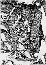 manche de marteau en bois