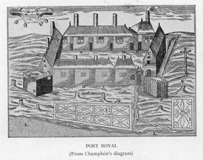 Port Royal circa 1612.