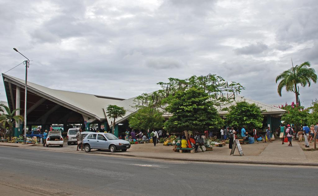 Port Vila Market - Wik...V Is For Vegetables
