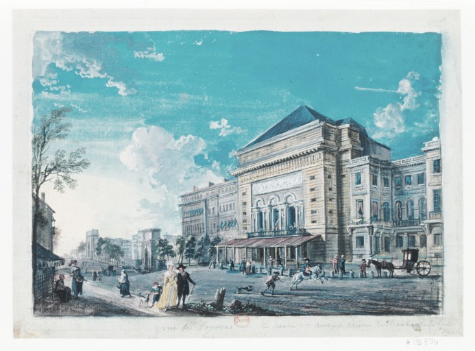 L'Opéra de la Porte Saint-Martin Porte_Saint-Martin_XVIII