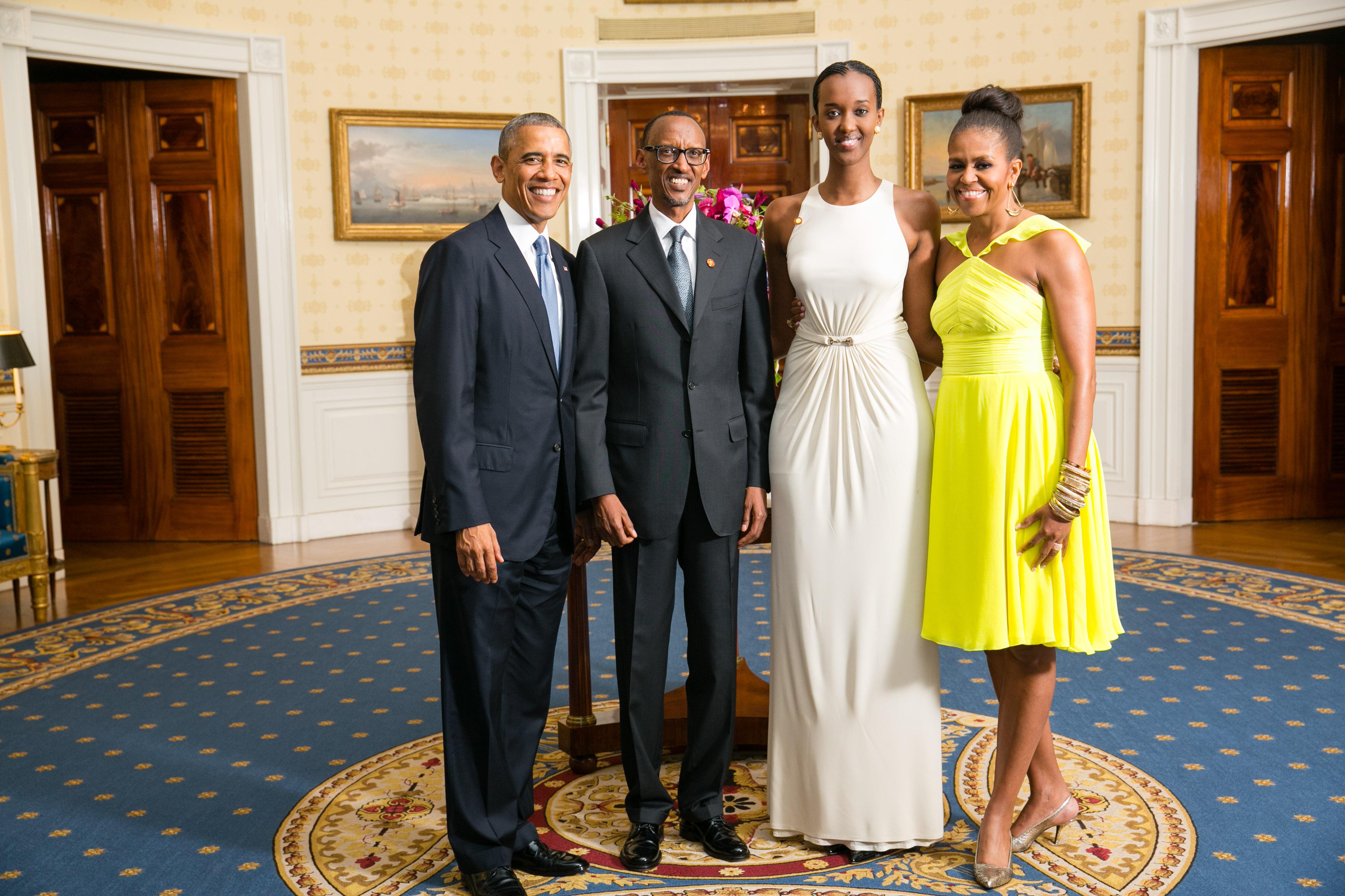 Michelle Obama Children 2014