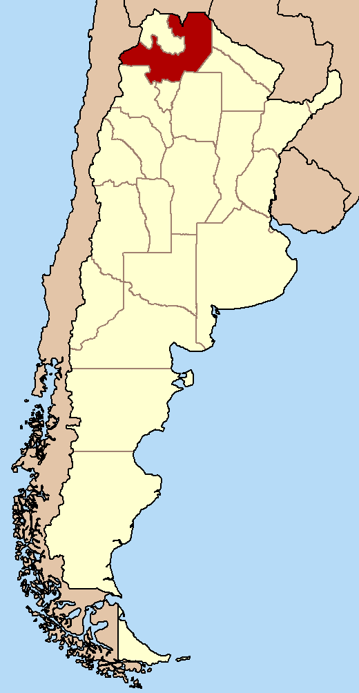 FileProvincia De Salta Argentinapng Wikimedia Commons - Argentina map salta