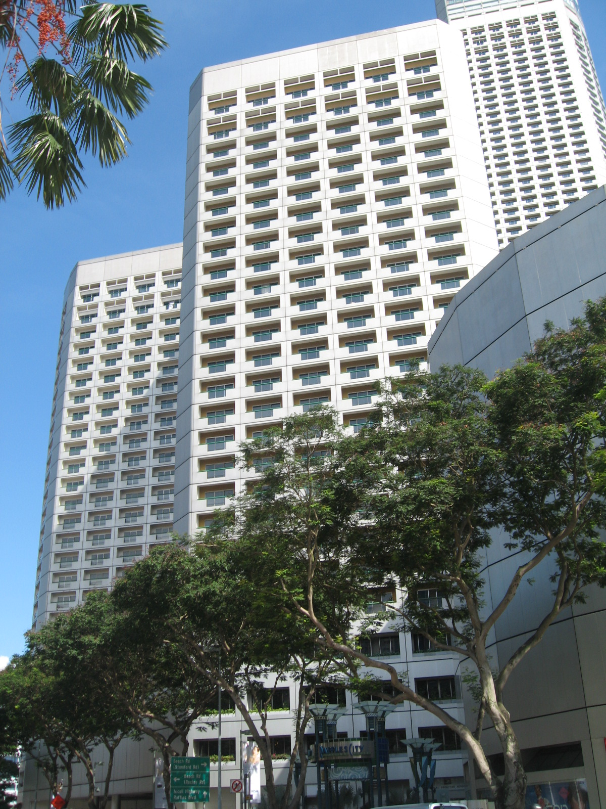 Hotels In Boston >> Fairmont Singapore - Wikipedia