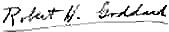 Robert Hutchings Goddard signature.png