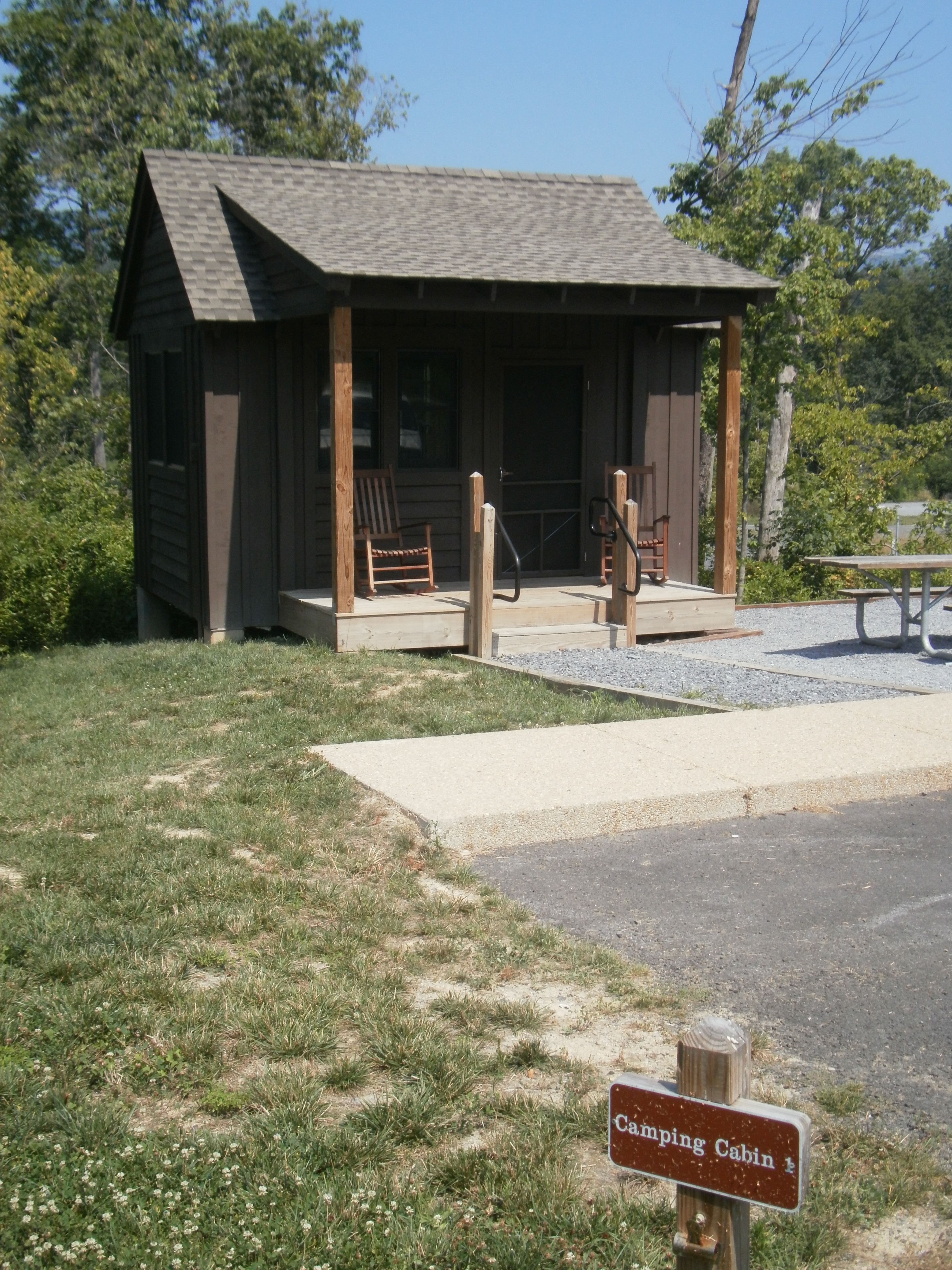 campground kalyumet lucinda and camping pa review cabins