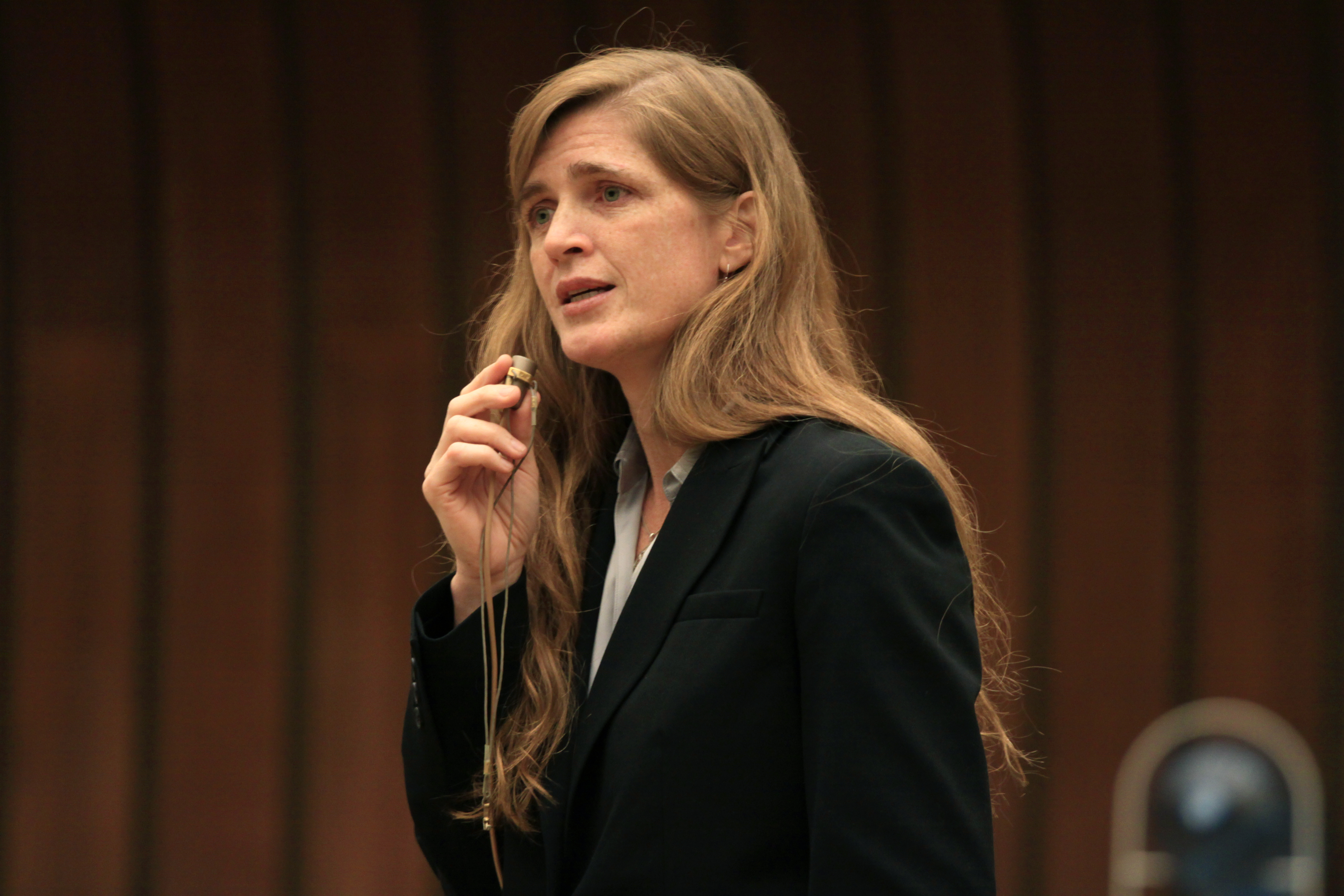 Samantha Power Harvard