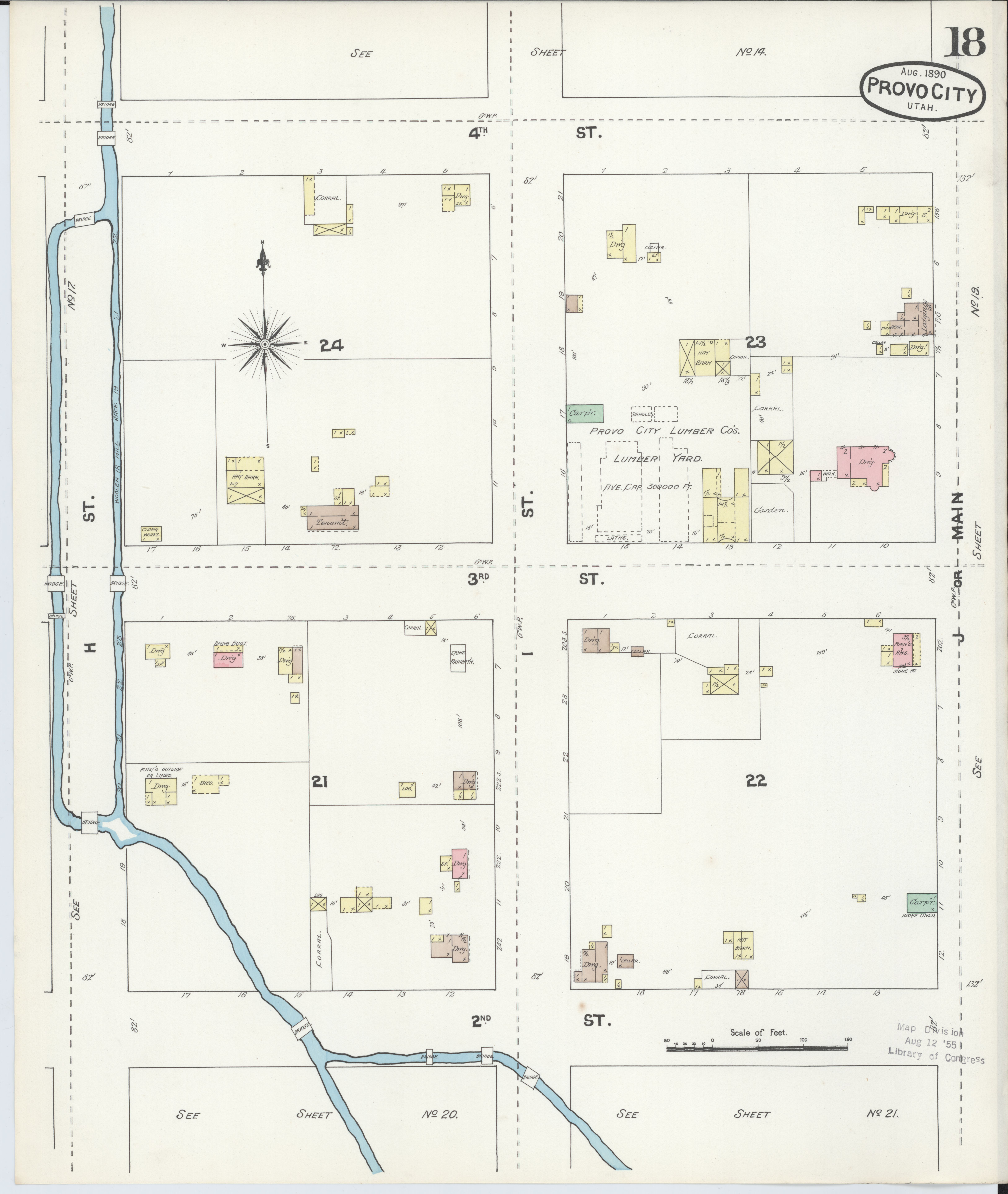 File:Sanborn Fire Insurance Map From Provo, Utah County
