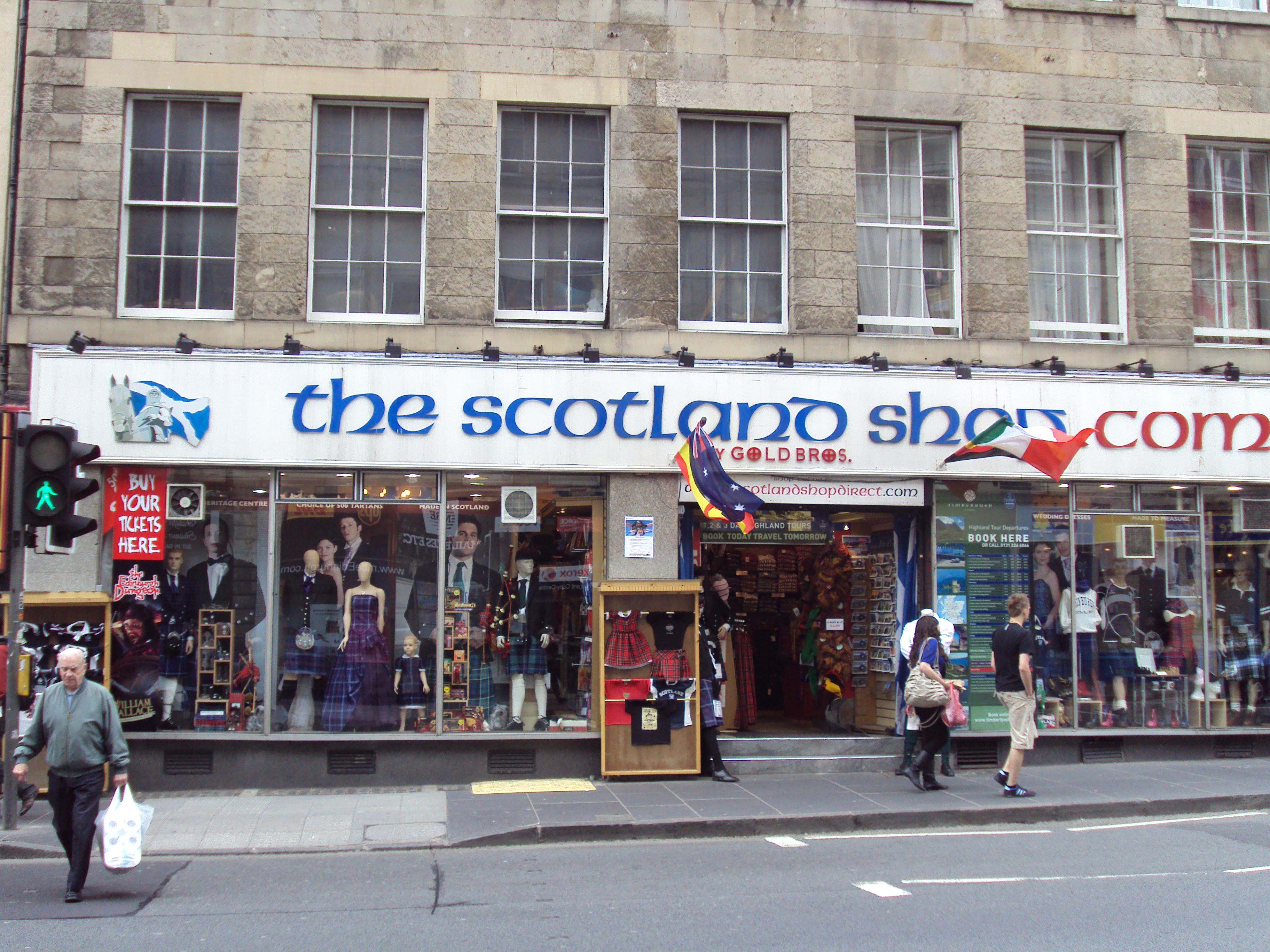 List of fashion shops in edinburgh