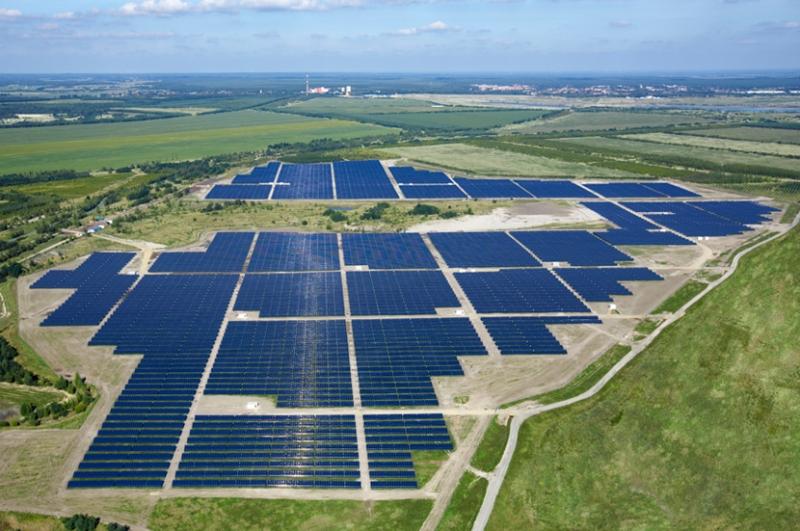 Germany Solar Power >> Solarpark Meuro - Wikipedia