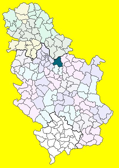 smederevo karta srbije Smederevo (općina) – Wikipedija smederevo karta srbije
