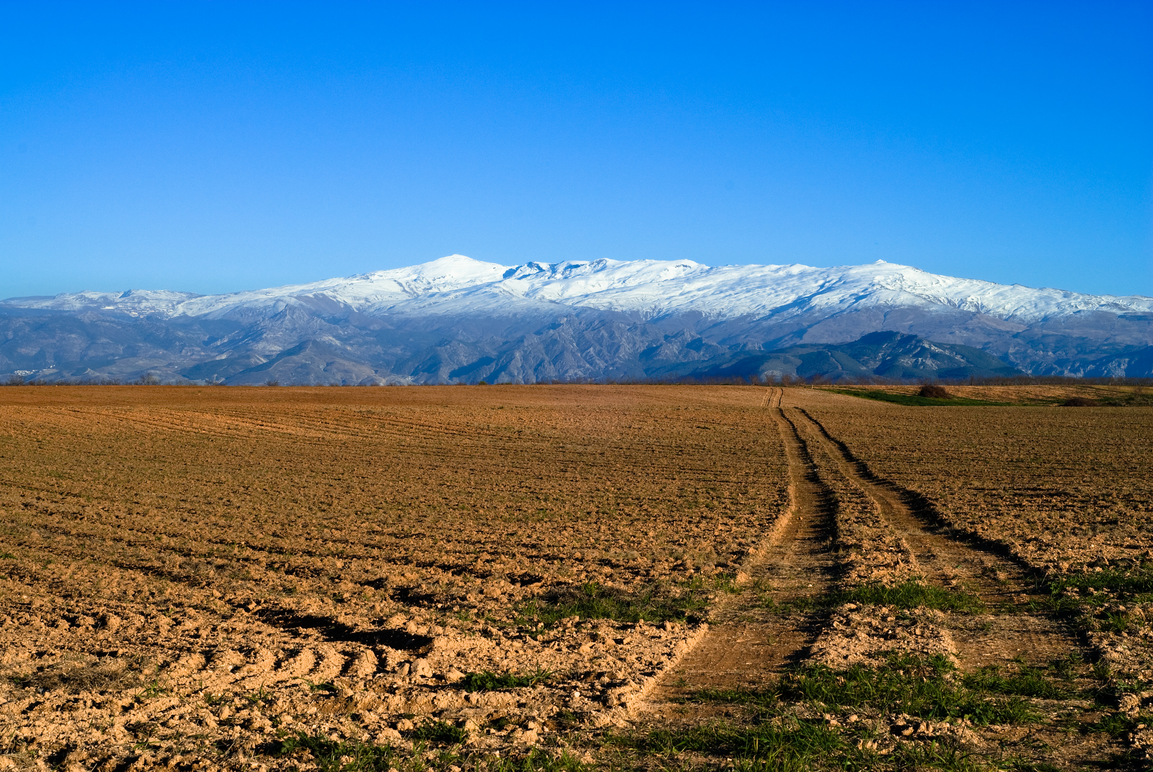 Map Of Spain With Mountains.Sierra Nevada Spain Wikipedia
