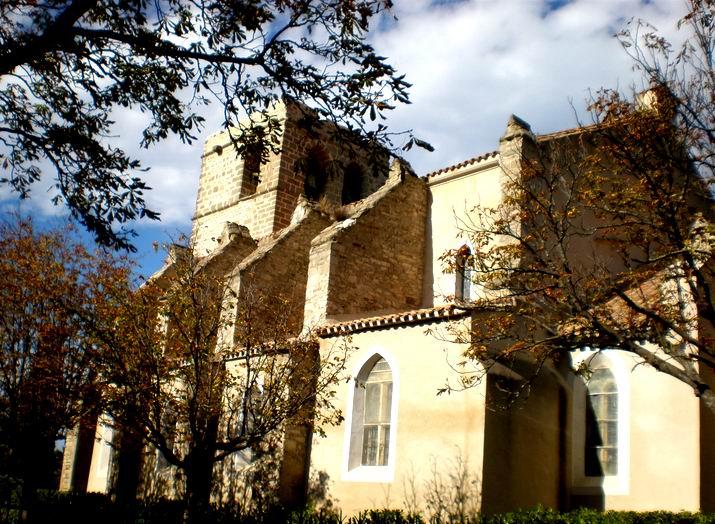 Église Saint-Baudile à Siran (Hérault)
