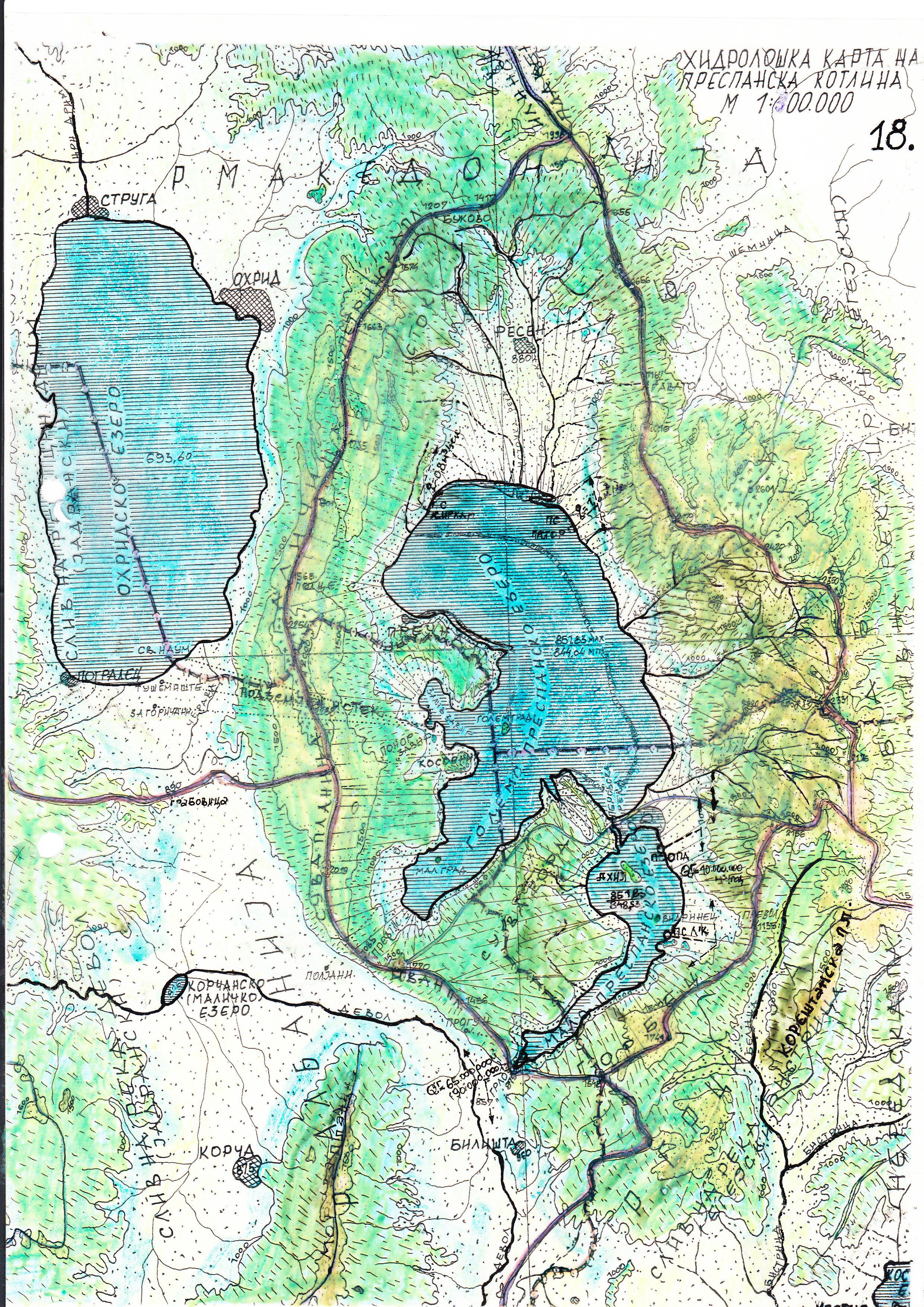 File Skenirana Hidrografska Karta Avtor M R Ilija Cavkalovski Jpg