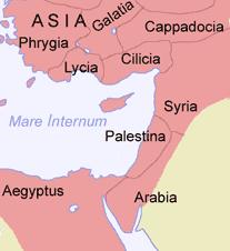 Location of Levant