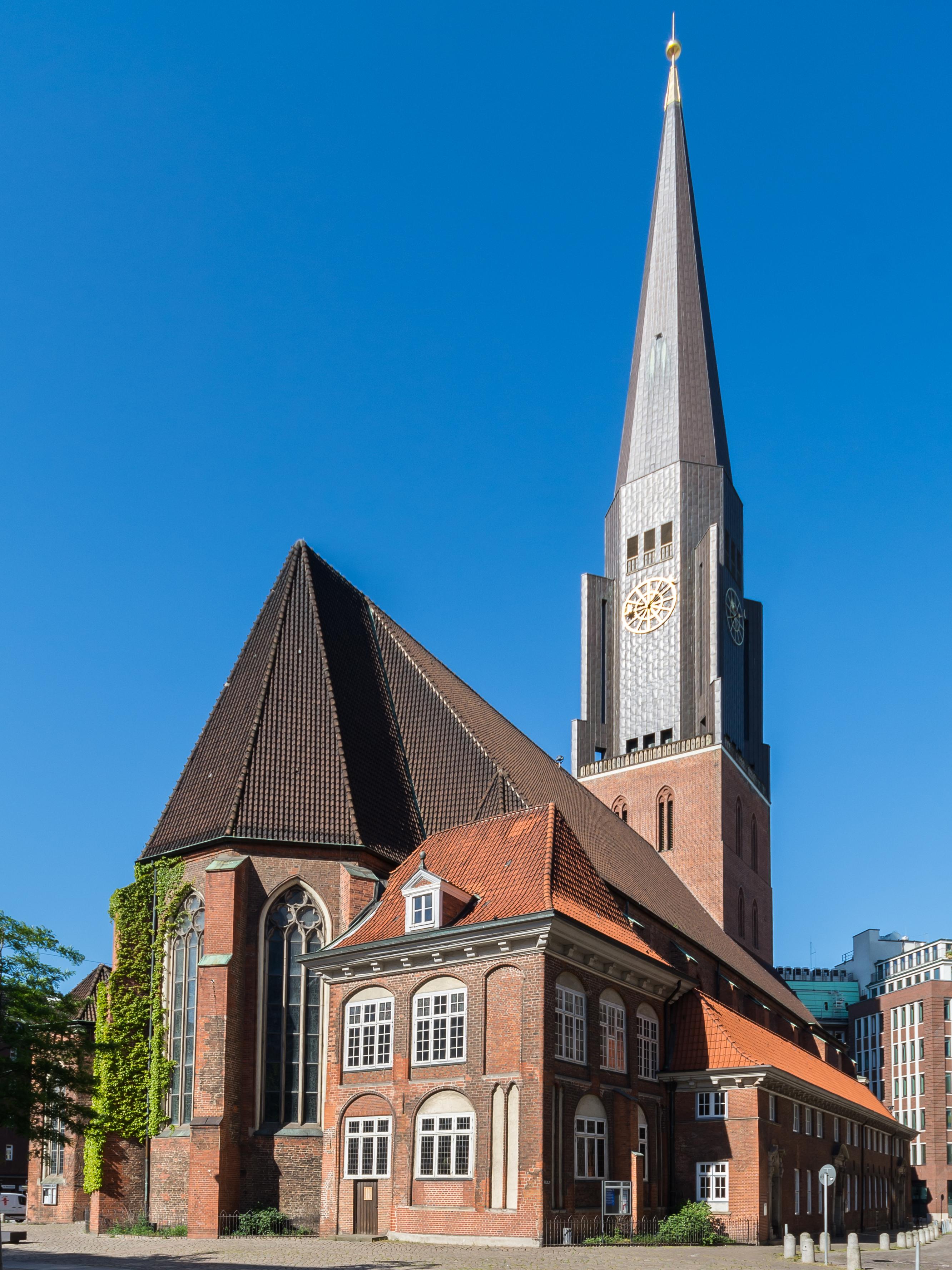 Hauptkirche Sankt Jacobi Hamburg – Wikipedia