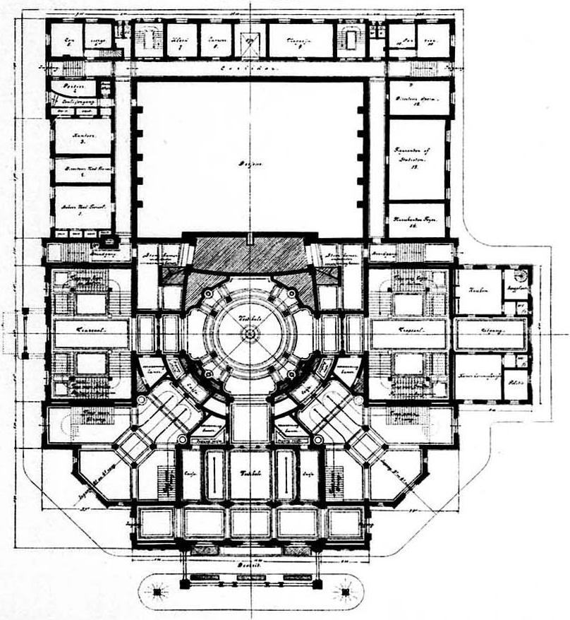 Stadsschouwburg Amsterdam Plan Wikimedia Commons