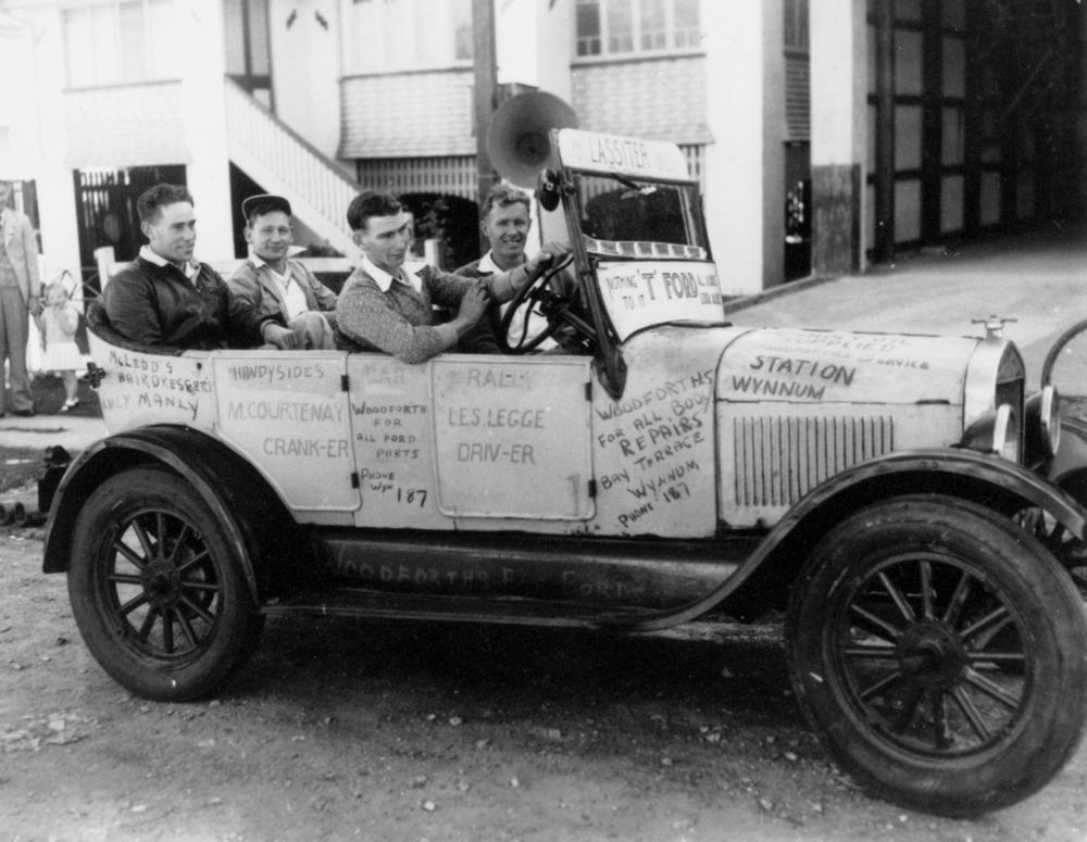 File Statelibqld 1 117784 1927 Model T Ford Equipped For A Rally Ca 1928 Jpg Wikimedia Commons