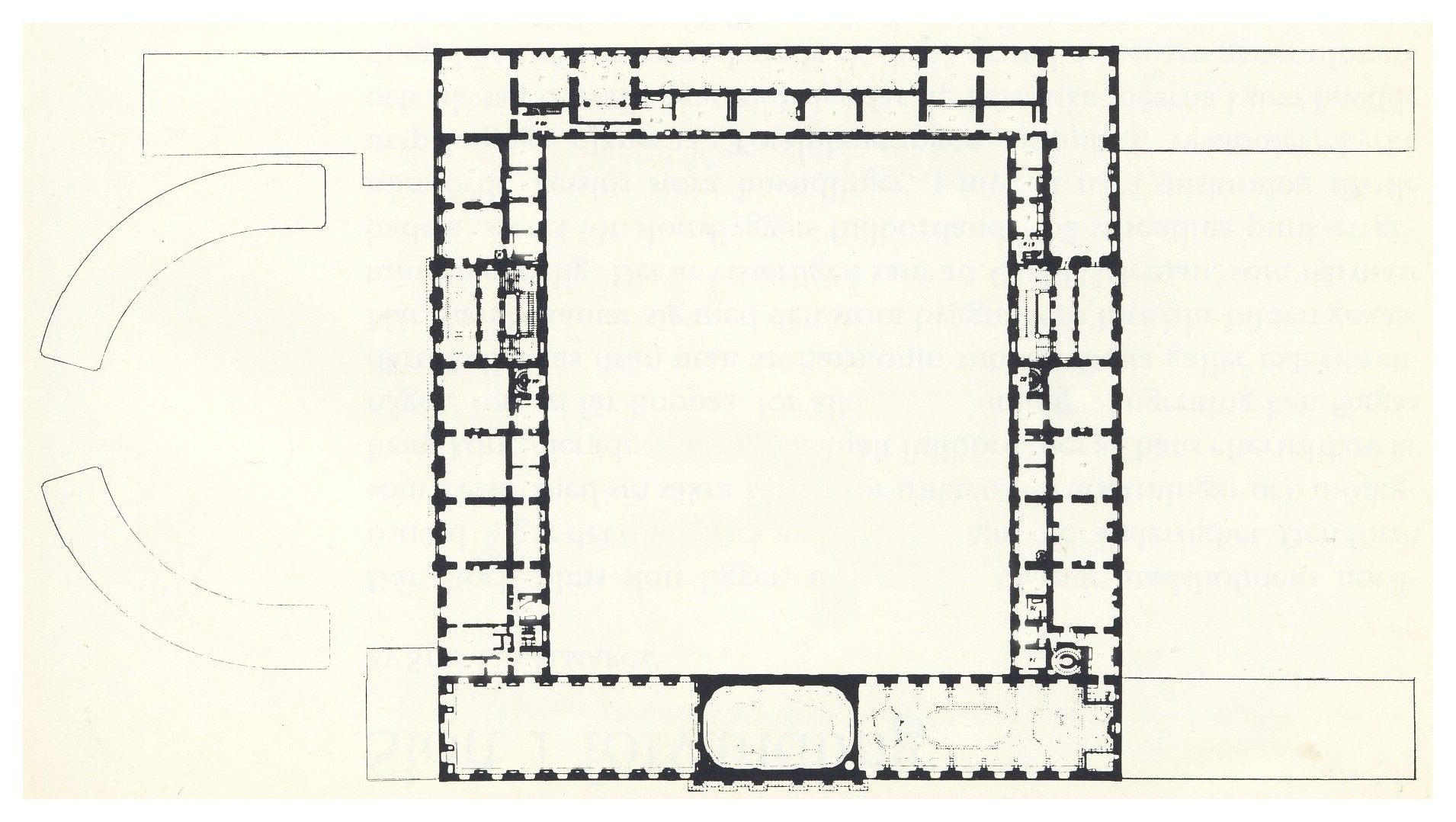 Royal palace floor plan the image kid for Palace floor plans