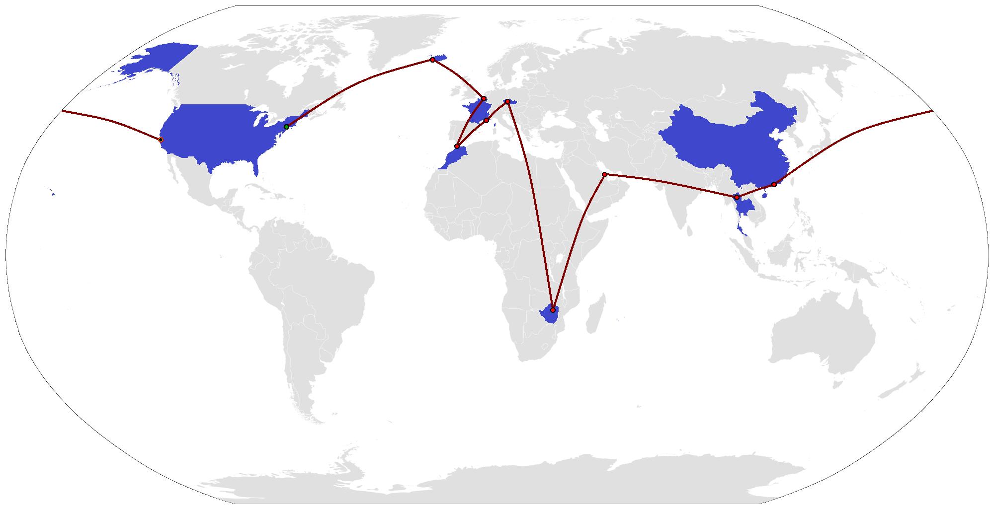 File The Amazing Race 30 Map Png Wikipedia