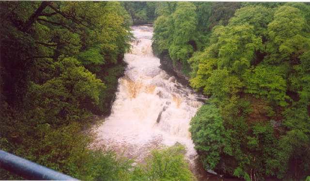 The Falls of Clyde - geograph.org.uk - 26709