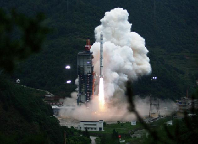 The launch of Change 1, Xichang Satellite Center, China.jpg