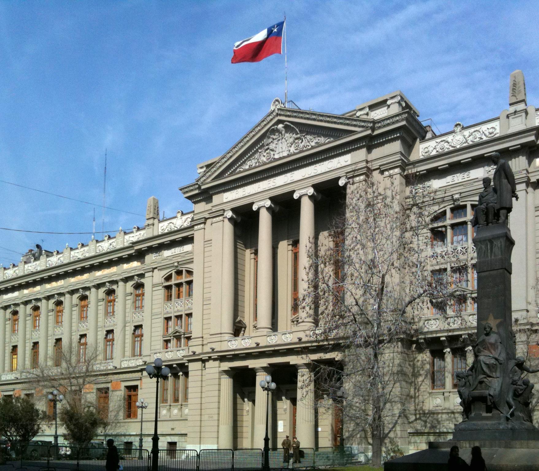 Depiction of Poder Judicial de Chile