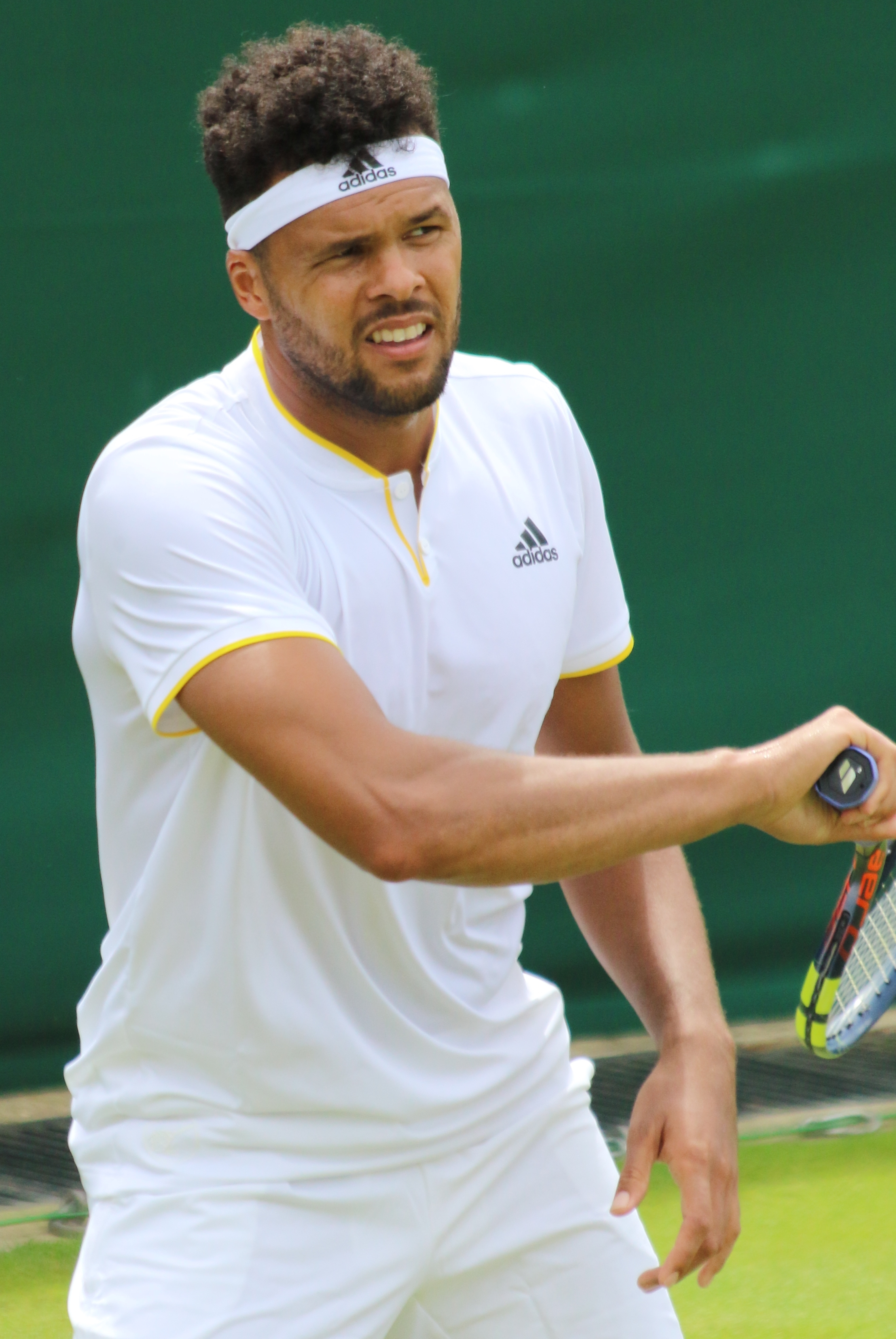 The 35-year old son of father Didier Tsonga and mother Évelyne Tsonga Jo-Wilfried Tsonga in 2020 photo. Jo-Wilfried Tsonga earned a  million dollar salary - leaving the net worth at 10 million in 2020