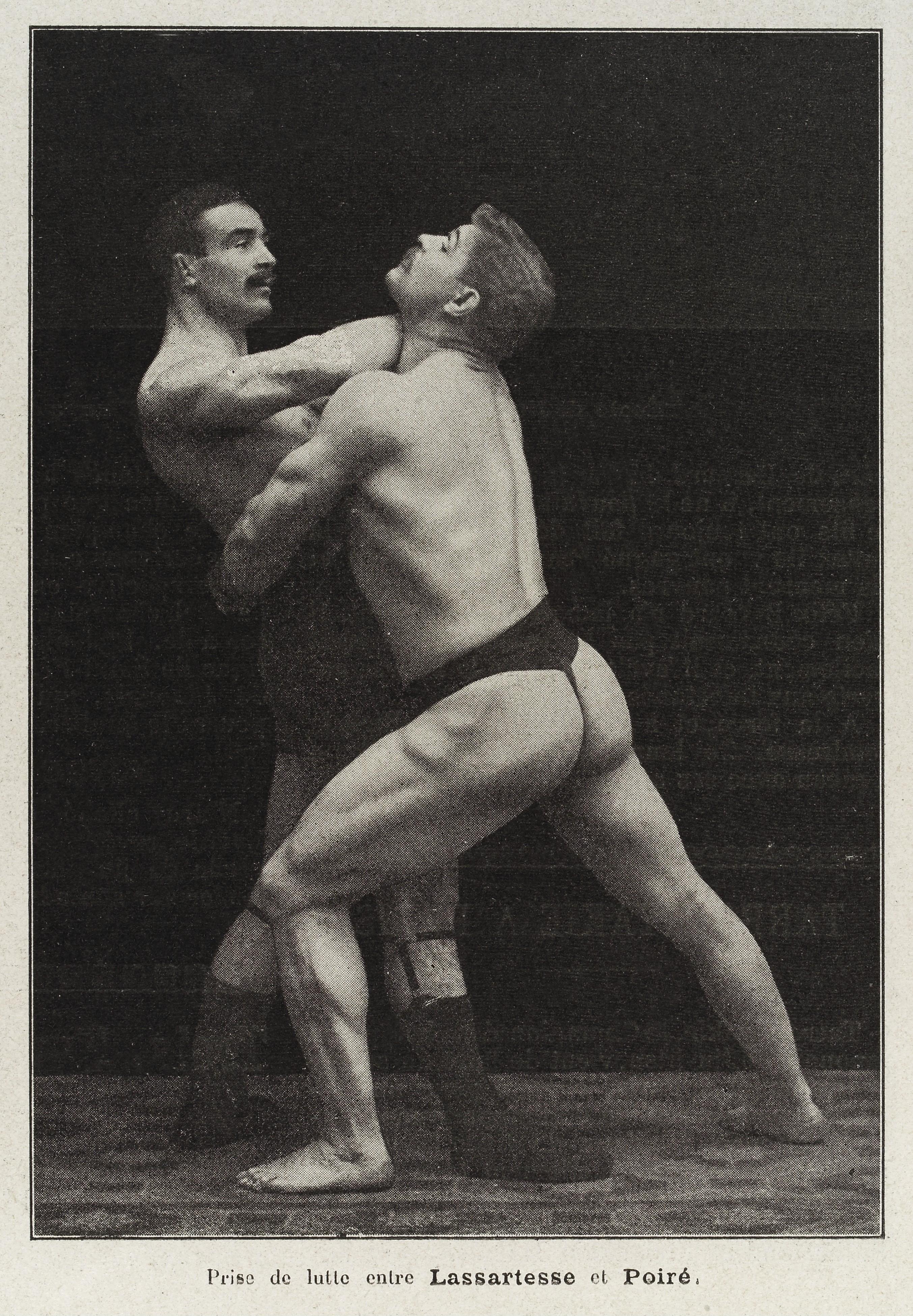 Men Wrestling In Thongs