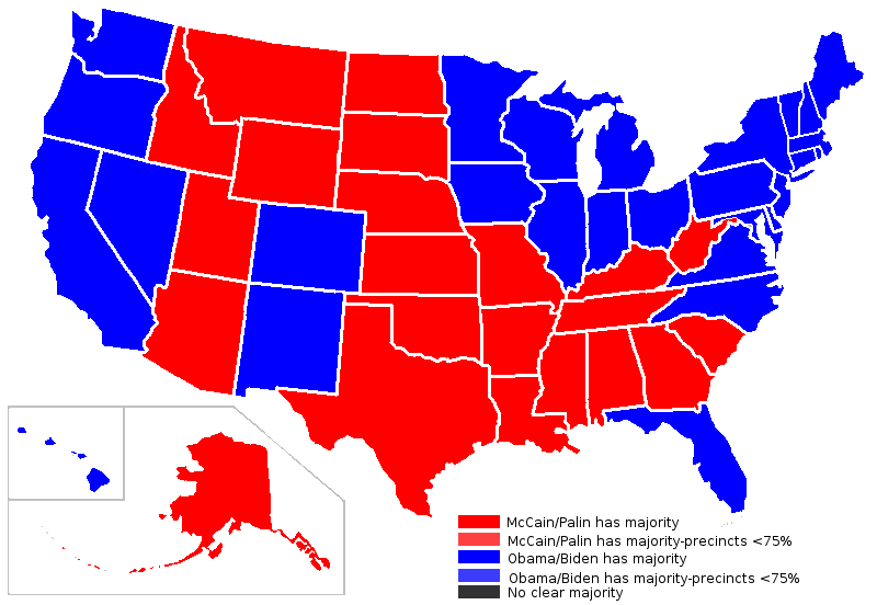 A Political Map Of The United States.The New Political Map Of The United States News Planetizen