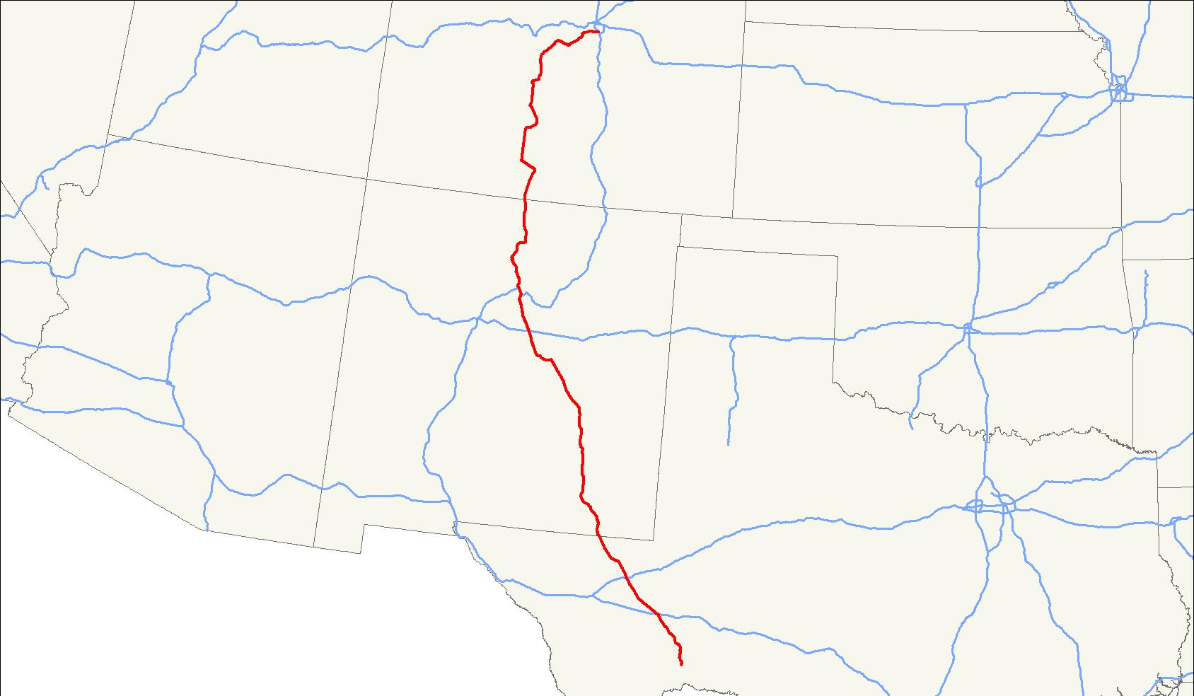 U S  Route 285 - Wikipedia