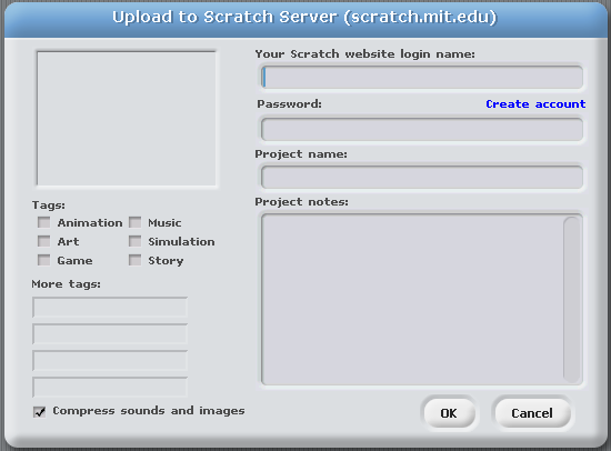 Uploading Screen, Scratch 1.4.png
