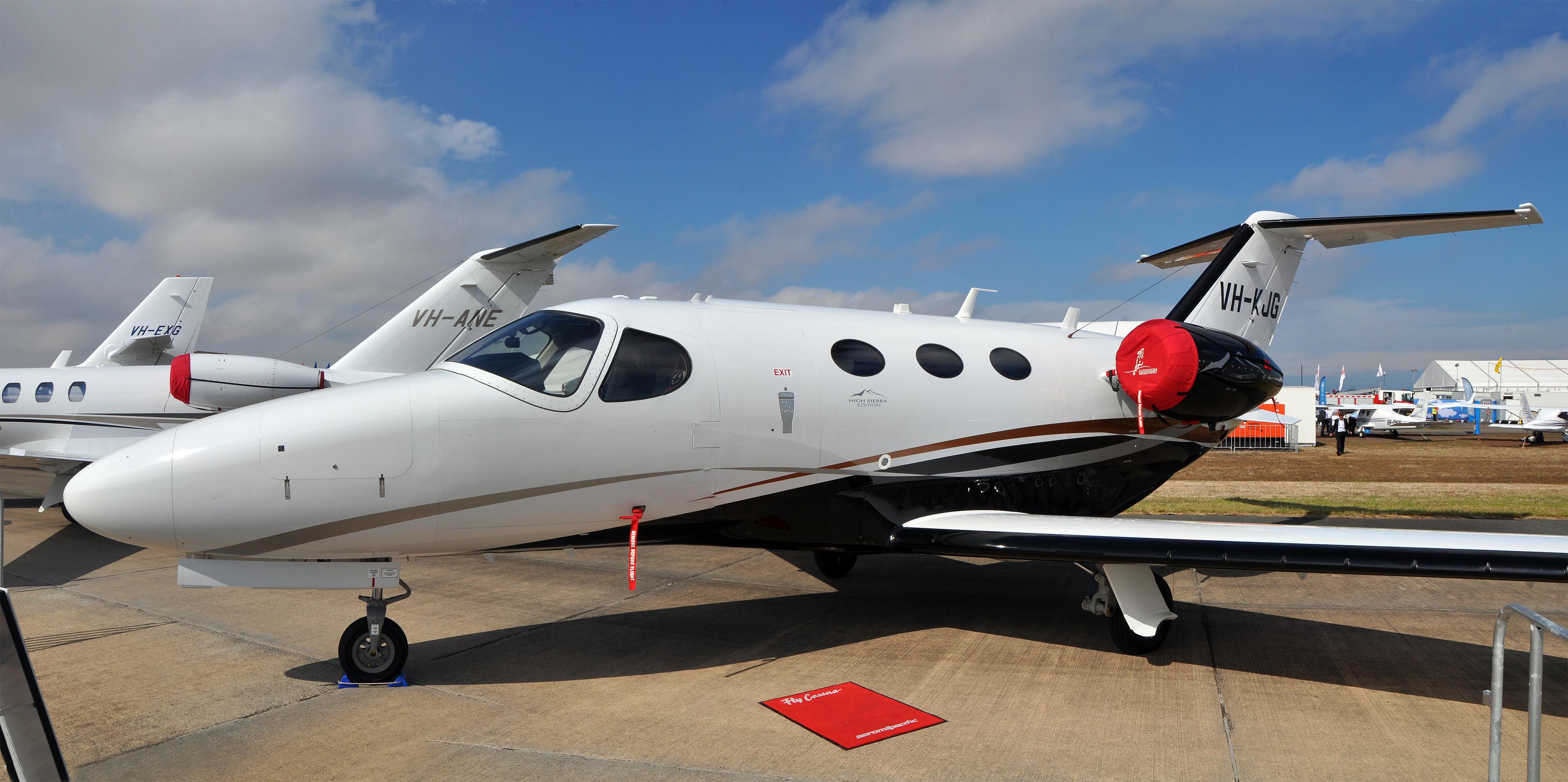 File:VH-KJG Cessna 510 Citation Mustang 'High Sierra Edition ...