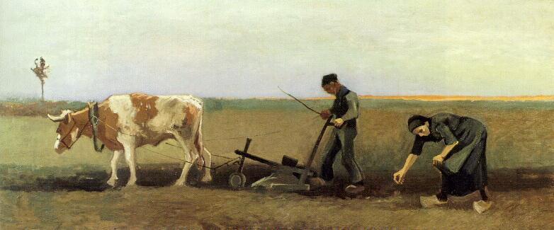Van Gogh - Kartoffelsetzen