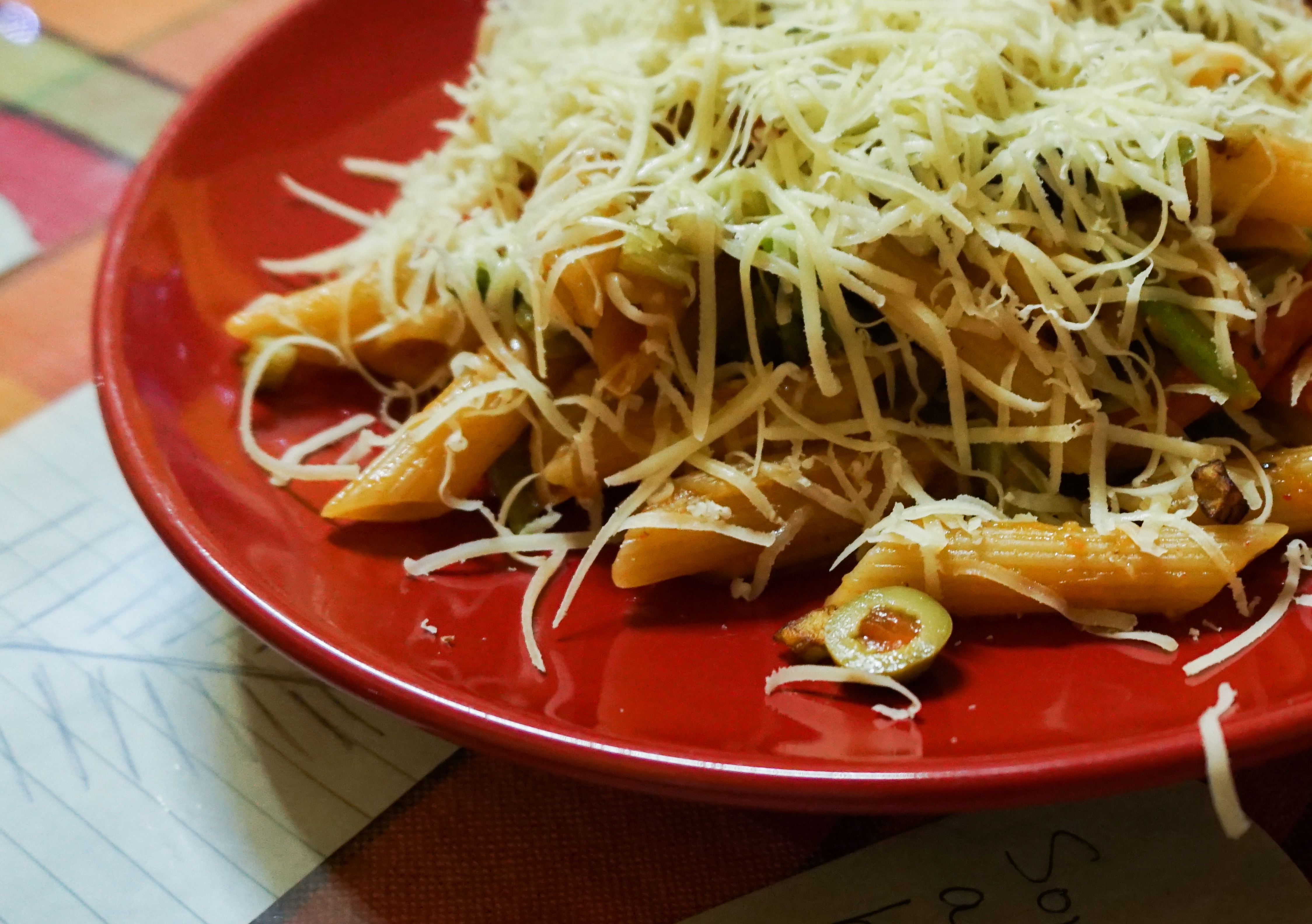FileVeg Pasta In Red Sauce