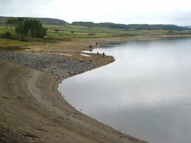 View from the south end of the Derwent Reservoir dam - geograph.org.uk - 611489
