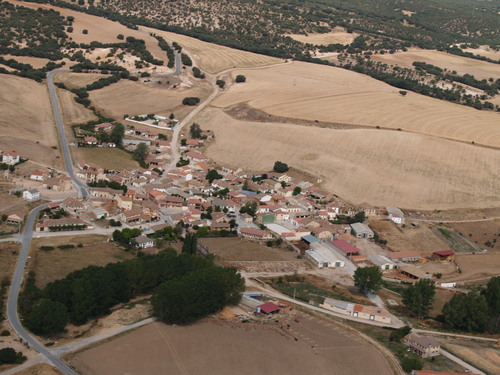 Vista de Monterrubio