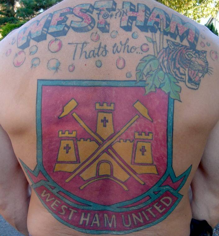 Aston Villa Tattoo Design