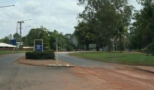 Weipa Town in Queensland, Australia
