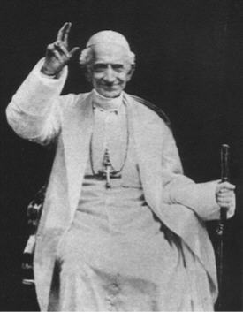 Pope Leo XIII in 1898.