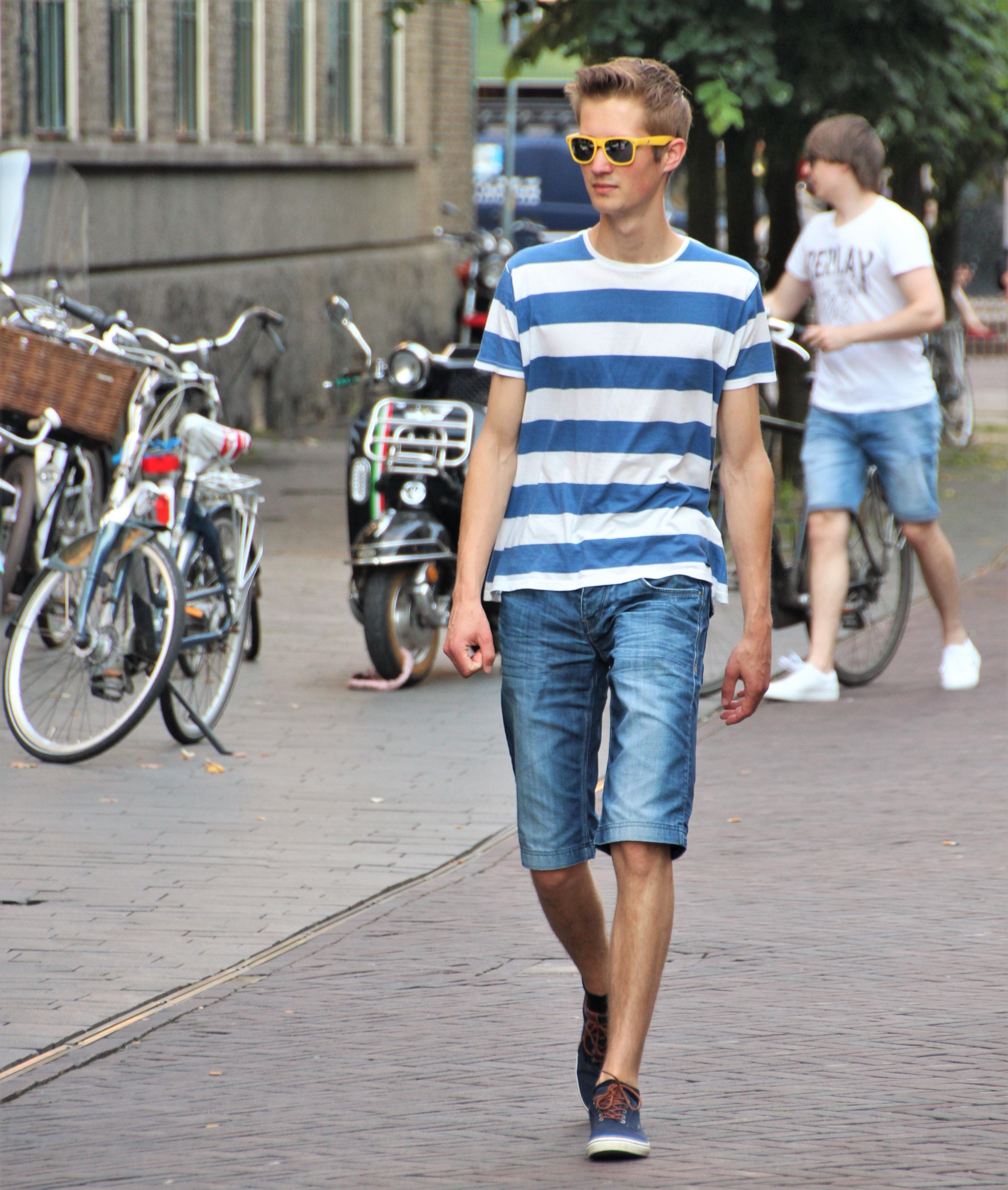 White Shoes Men Sporty Paris