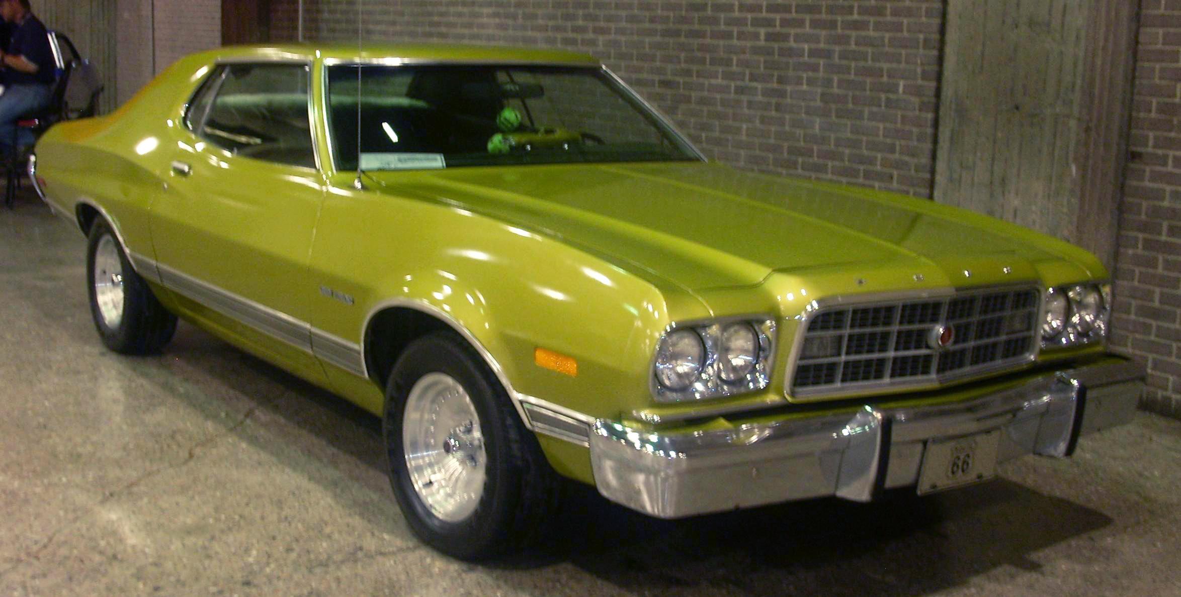 File:\'73 Ford Gran Torino (Auto classique).JPG - Wikimedia Commons
